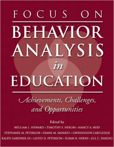 Focus on Behaviour Analysis in Education